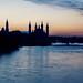 Anochecer en el Ebro