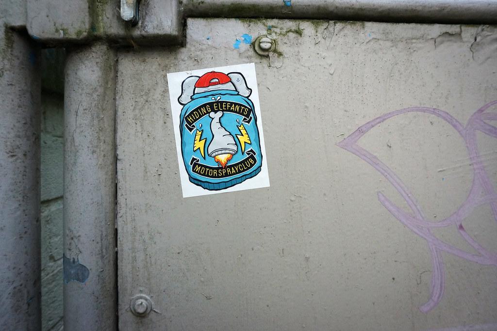 Sticker Aufkleber Hamburg