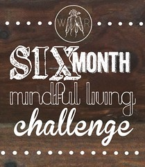 The Six Month Mindful Living Challenge