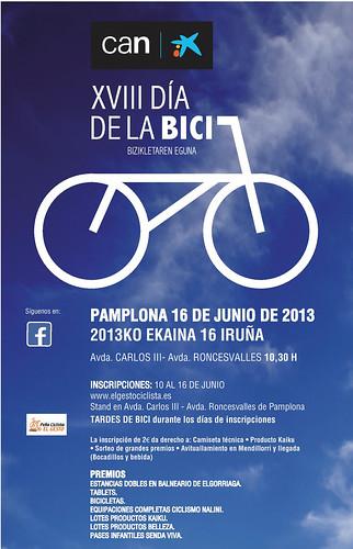 Día de la Bici en Pamplona