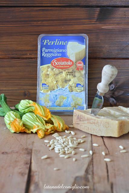 Perline al PR con zucchine e fiori 1 written