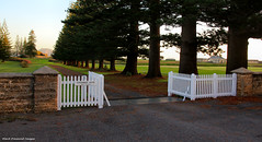 Gates and Driveway to Government House, Quality Row, Kingston, Norfolk Island