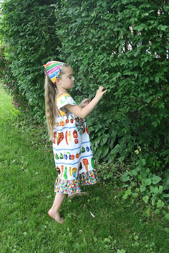 Very Hungry Caterpillar dress