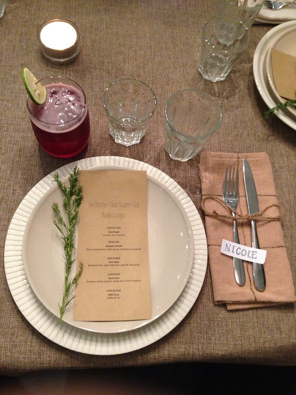 Kitchen table supper club