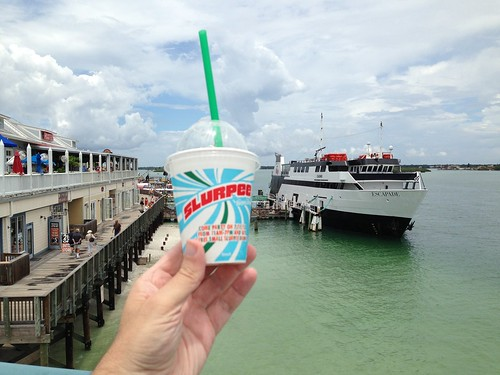 #711Day: Things to do at John's Pass for my #Slurpee and I at Madeira Beach FYI @7eleven