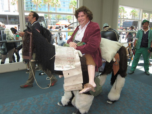 SDCC 2013 - Cosplay  - Bilbo Baggins on a Horse - Thursday