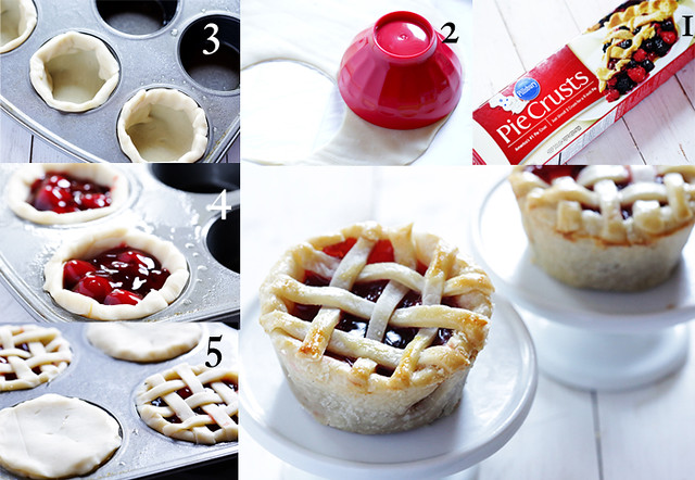 How to Make Mini Pies in a Cupcake Tin