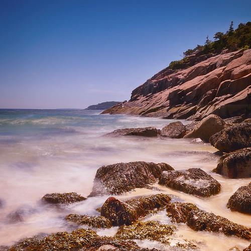 longexposure usa seascape color square landscape nikon bright maine sunny le dslr hoyand400