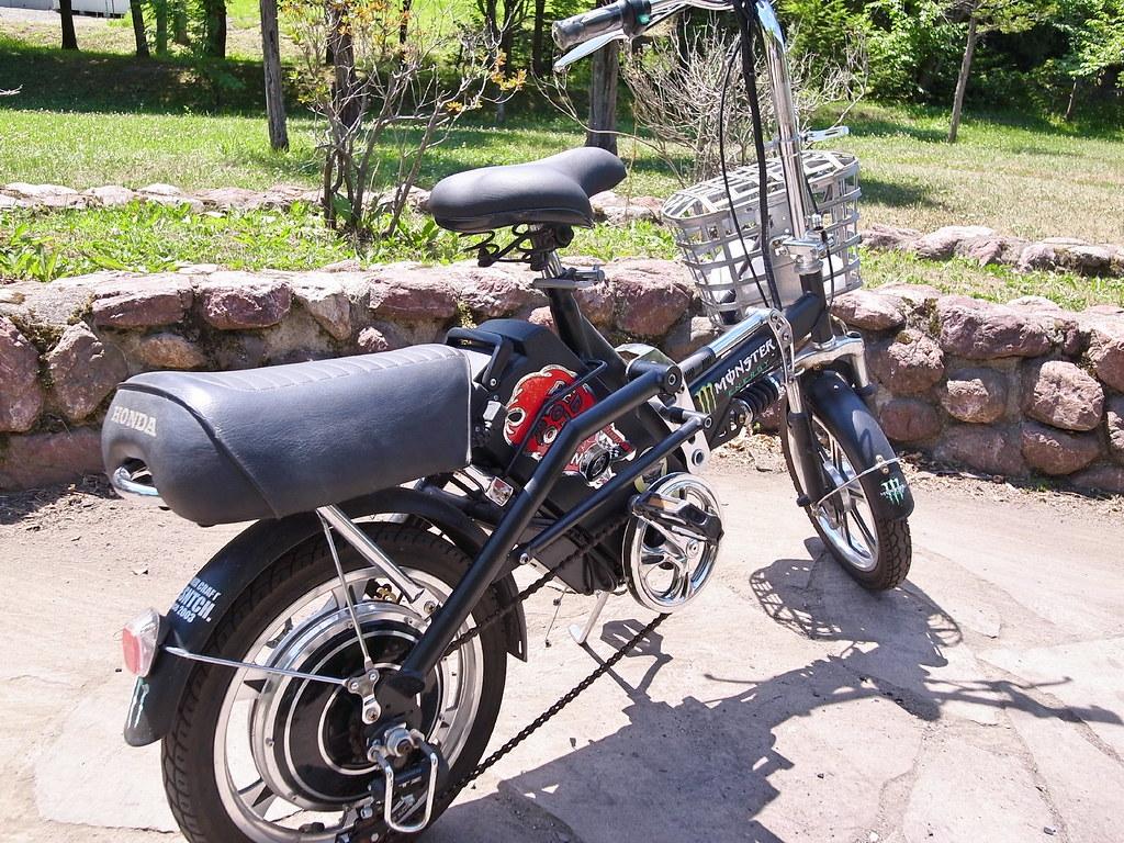 電動自転車。1