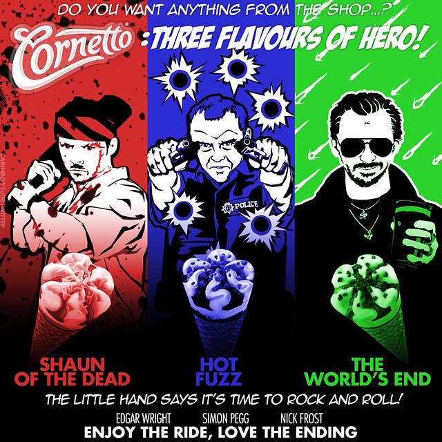 cornetto trilogie