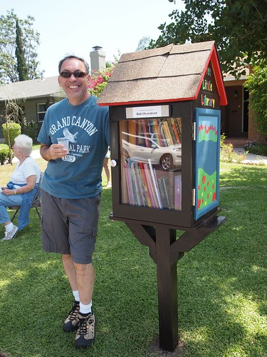 Free Little Library Opening in North Sherman Oaks - 5