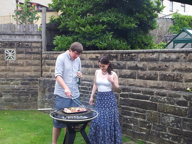 BBQ with the Mrs ;)