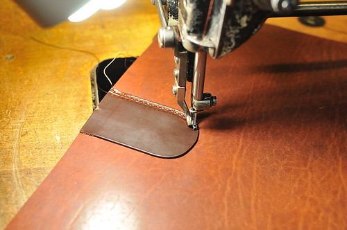 Mitchell Compact Briefcase: Buckle Step 4
