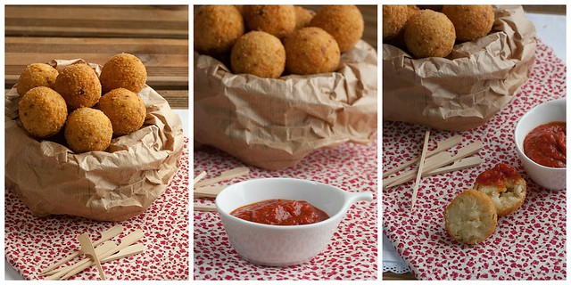 Croquetas bacalao Collage