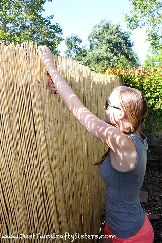 Installing Bamboo Privacy Fencing