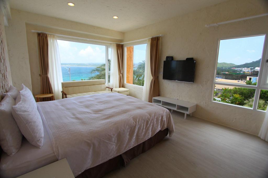 二樓浪漫海景雙人房臥房IMG_1055