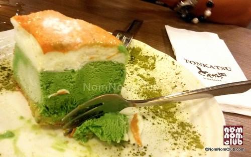 Frozen Green Tea