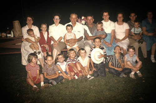 Forbush Family Reunion circa 1959