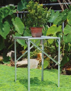 single--tier-aluminum-greenhouse-shelf