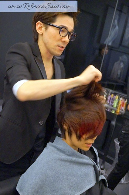 Hair makeover by Kevin Woo - Centro Hair Salon