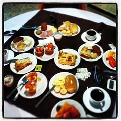 Café da manhã! Huuumm... Bom Dia!