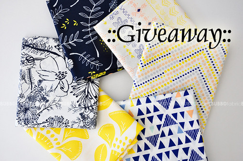 Fabric Bubb giveaway!