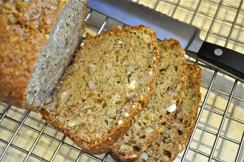 zucchini bread/lemon & almonds feature