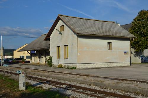 10.09.2013 (XV); Oostenrijk, dag 11, Trainspotting, Ybbstalbahn & Radbahnen