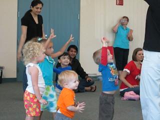 Preschool Dance Party at Harrington