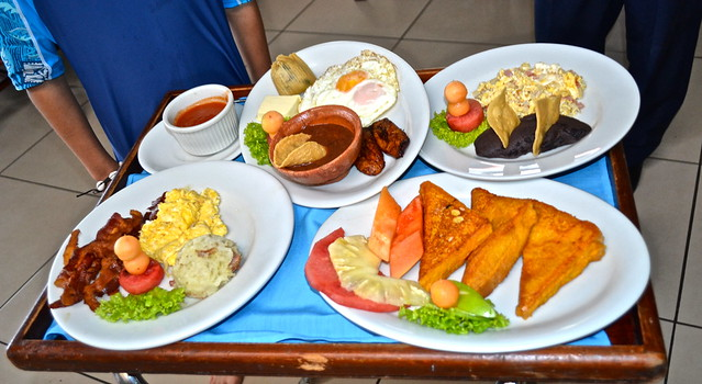 Typical Guatemala food - Typical Guatemala Breakfast