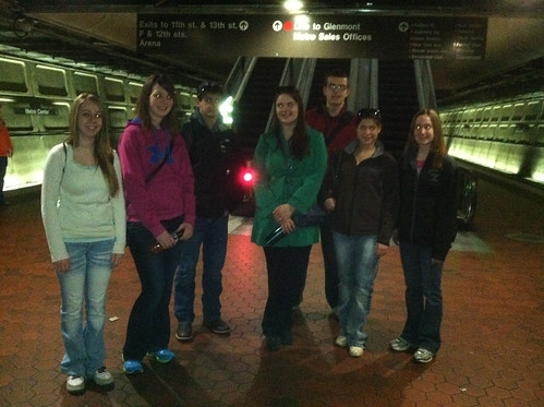 South Dakota and Iowa Delegations take the Metro to DC
