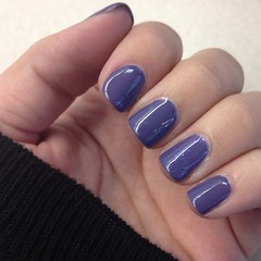 Gel nails! Hope it lasts awhile. I feel like myself when my nails are polished! #notd #nails