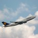 Lufthansa 747 takeoff FRA