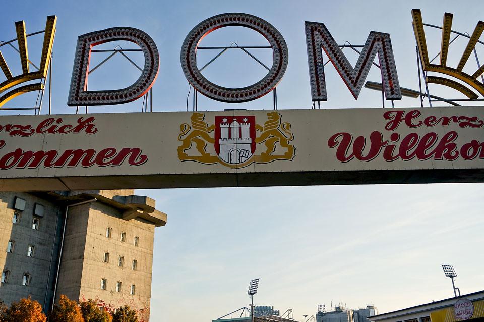 Willkommen Hamburger Dom
