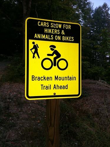 Bracken Sign