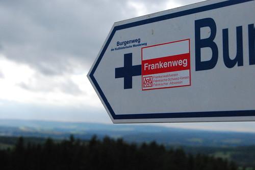 Burgen- und Frankenweg verschmelzen