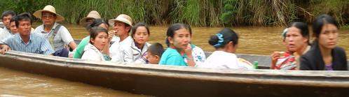 transportation on Inle Lake