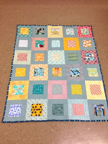 Small Plates baby quilt