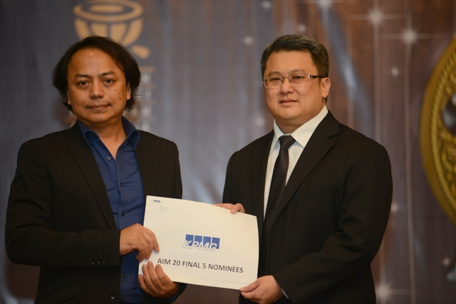 Rosmin-AIM 20 Chairman & Mr. Lam-Partner KPMG