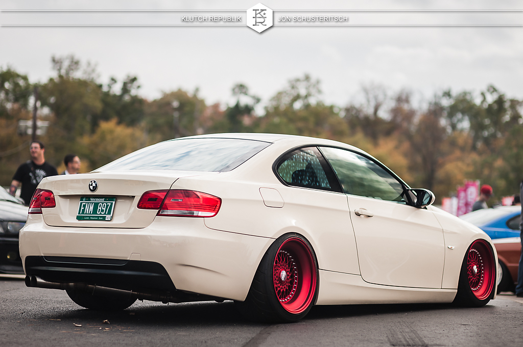 will fischer bag riders 330i coupe cream bbs rs canibeat first class fitment 2013 4th annual new jersey princton airport slammed dropped dumped bagged static coilovers hella flush stanced stance fitment low lowered lowest camber wheels tucked 16s 17s 18s 19s 20s 3piece 1 piece custom airbags scene scenester