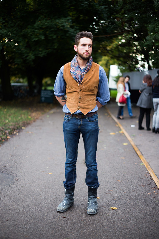 Street Style - Luke, Frieze Art Fair