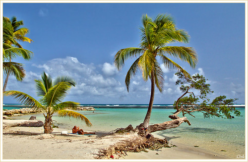 beach plage guadeloupe steanne canoneos550d