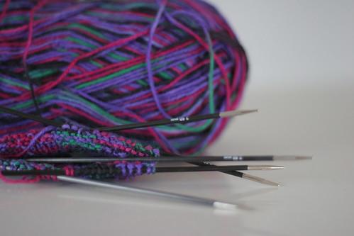 KnitPro Karbonz DPNs 2.5 mm