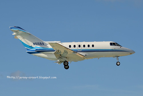 N55BA  Hawker 800XP by Jersey Airport Photography