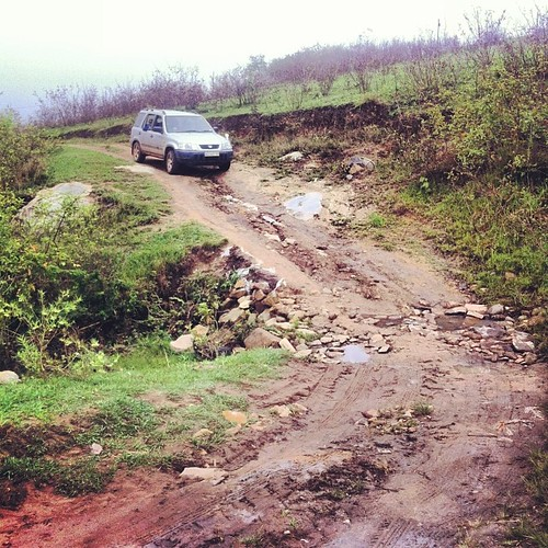This is why we are buying a tough vehicle. #africanroads #swazilandtripnovember2013 #swaziland #countryroads #maliyaduma #thisisafrica