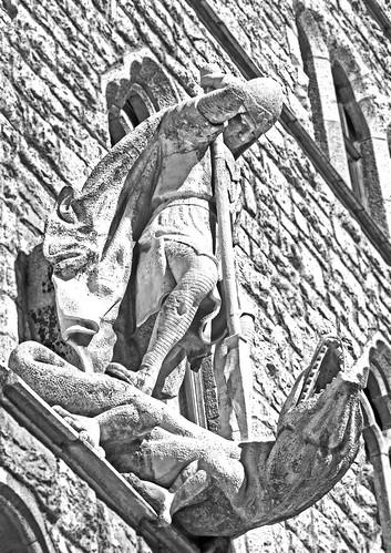 San Jorge y el dragónHDRN