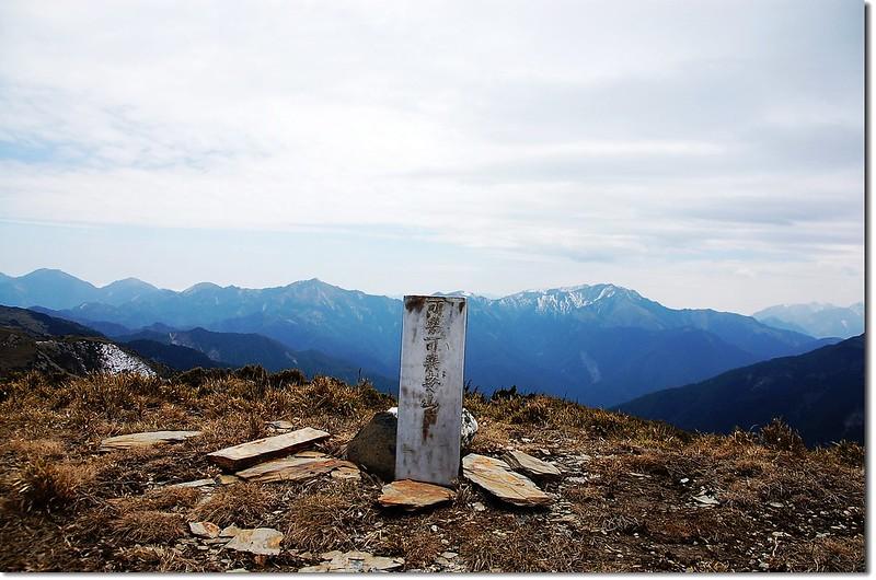 可樂可樂安山不鏽鋼基點(Elev. 3525 m)