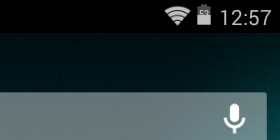 status bar of kitkat