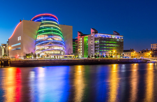 The Convention Centre, Dublin Ireland (architect Kevin Roche)