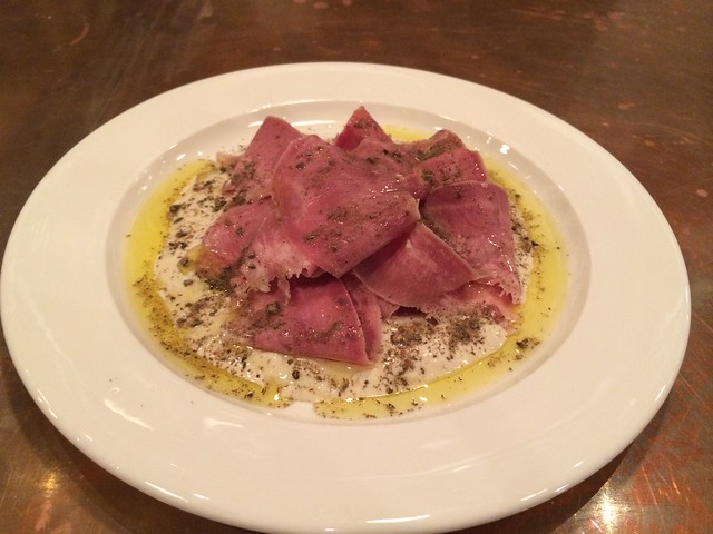 Pork tongue tonnato - Barnacle